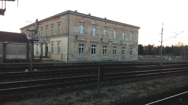 Bahnhof Glöwen